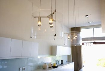 Artfully light the way with contemporary kitchen lighting.