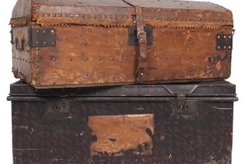steamer trunks have a lot of character