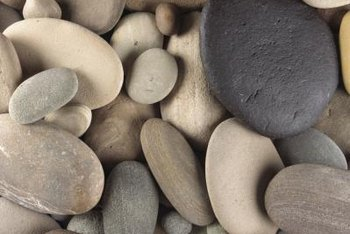 Select smooth river-rocks or rough rocks for the veneer.