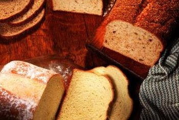 Adding gluten flour can help multigrain breads rise light and high.