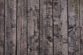 Wooden Post Texture how to fix a crooked post on a privacy fence | home guides | sf gate
