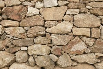 Interior Stone Wall how to cover an interior wall with stone | home guides | sf gate