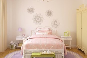 Paint For A Bedroom which wall should you paint in a bedroom to make it appear larger