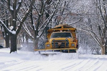 Snowplows and cars on streets can spread road salt onto lawns.