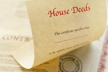 House deeds are evidence of home ownership.