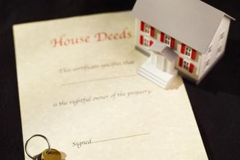 A trustee deed conveys title but no title guarantees.