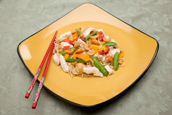 Substituting shirataki for conventional noodles can sharply reduce the carbs and calories in a meal.
