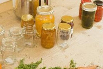 Making preserves from fresh fruits and vegetables allows you to enjoy them all winter.