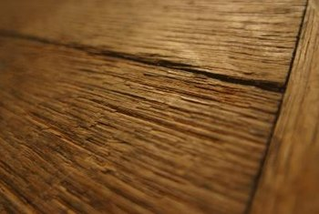 Wood floors are constantly expanding and contracting so gaps may be more noticeable during dry conditions.