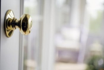 You can remove a doorknob with only a screwdriver.