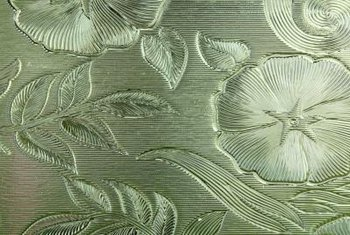Window film can mimic etched, stained or tinted glass.