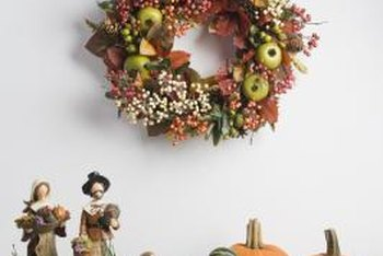 No matter what time of year it is, there's an the ideal seasonal wreath to decorate your wall.