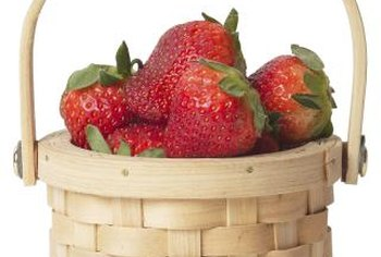 Give strawberry plants 1 inch of water per week in the first year of planting.