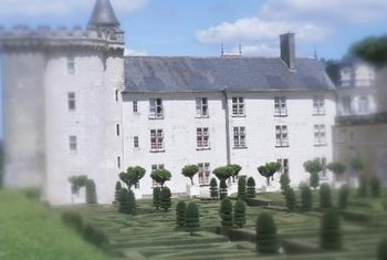 At one time, topiaries were almost limited to the castles and other homes of the wealthy.