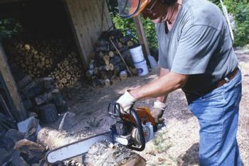 Older chain saws typically require more oil than newer ones.