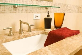 Place A Fingertip Towel Near Your Sink For Your Guests.