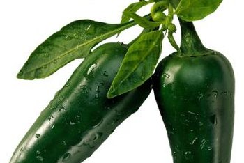 Jalapeno peppers spice up your garden.