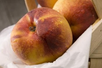 Nectarines are related to peaches.