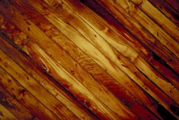 Color variations in hardwood create latitude for matching.