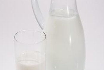 Skim and 1 percent milk differ in their fat content, but their nutrient contents are essentially the same.