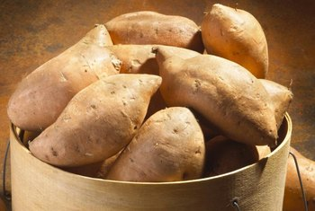 Yams are starchy vegetables native to Africa.