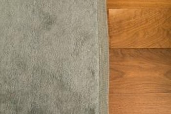 Grip pads and tapes keep rugs from slipping, even on top of wood floors.