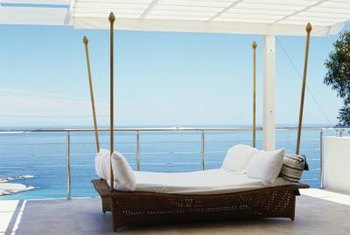 A secluded balcony can become a fresh-air nap zone.