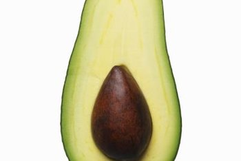 Avocado pits are available inside store purchased avocados.