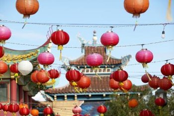 How to Decorate With Chinese Lanterns | Home Guides | SF Gate