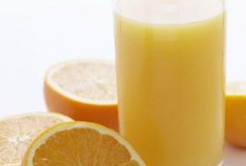 Having a glass of orange juice with breakfast can help supplement your potassium intake.