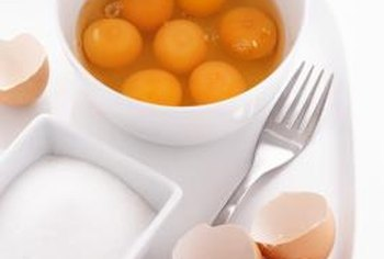 Eggs contain vitamin A and selenium, two nutrients important for healthy ovaries.