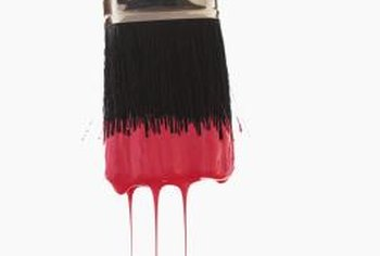 Red paint adds impact and dramatically changes the way your rooms look.