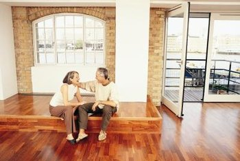 Laminate flooring's easy installation cuts installation costs.