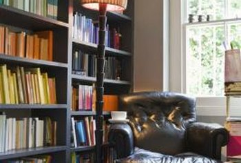Bookcases add character to any room.