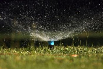 Sprinklers may not shut off fully if they're dirty, which wastes water.