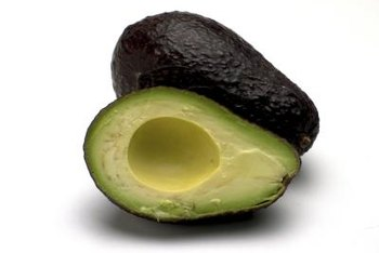 When fully ripe, Haas avocados have black skins.