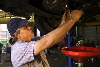 A recent oil change could cause your car to drip oil in the garage.