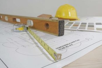 Use a level and tape measure to determine if a floor is level.