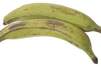 Plantains can raise blood sugar levels.
