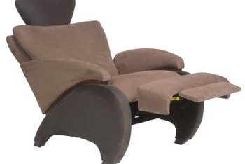 Some modern recliners take up less space and provide adequate support.