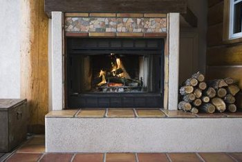 Gas fireplace units are found in many homes