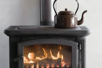 A stove can add ambiance and warmth.