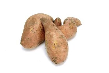 Sweet potatoes are rich in vitamin A.