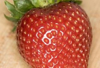 Strawberries are a nutrient-rich fruit.