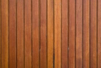 Wood paneling is often installed without a drywall backing.