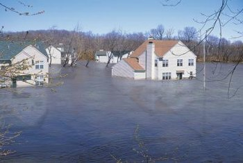 "When your home is said to be ""underwater,"" it means that you owe more on your home than it's worth."