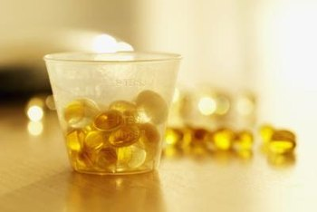 Fish oil capsules have beauty benefits.