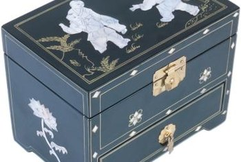 Antique Inlaid Lacquered Furniture Is Best Left To The Professionals For A  Good Shine.