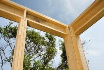 Wood joints make house framing possible.