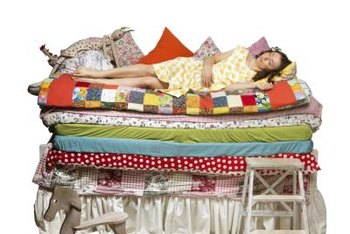 Poor sleeping habits lessen the lifespan of a mattress.